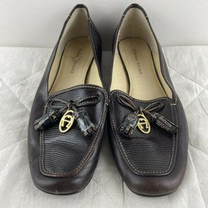 Etienne Aigner Womens Moccasin Loafer Shoes Sz 7.5